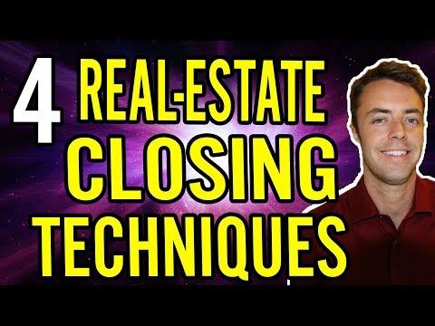 Real-Estate Closing Techniques (4 POWERFUL Tactics)