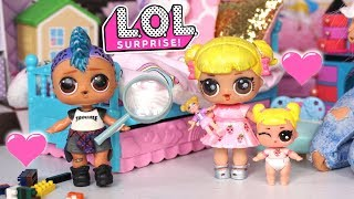 LOL Dolls Baby Goldie & Punk Boi Play Date - Missing Toy Mystery