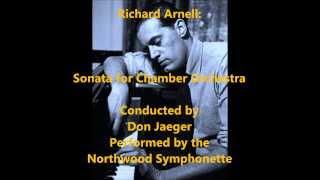 Richard Arnell: Sonata for Chamber Orchestra [Jaeger]
