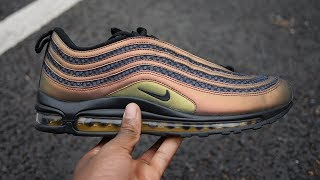 e23a85544c55 Air Max 97 Ultra Skepta Review   On Feet (Feat. Silver Bullet 2017)