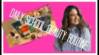 My Daily School Beauty Routine | skincare and teeth care  // Camsglam
