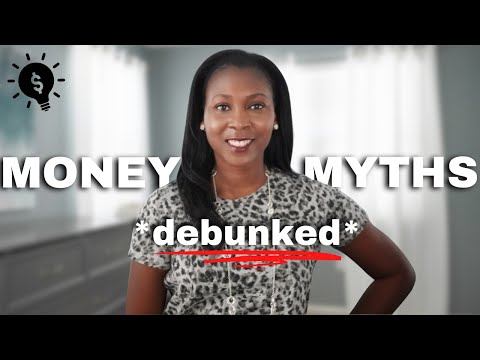 debunking 6 personal finance myths⎟FRUGAL LIVING TIPS