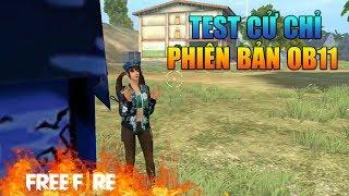 [Garena Free Fire] TEST Cử Chỉ Hành Động OB11   Sỹ Kẹo
