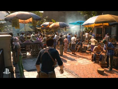 Uncharted 4: A Thief's End -- Official E3 Gameplay Demo ...