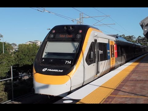 Trains and Buses at Nerang - Gold Coast Transport