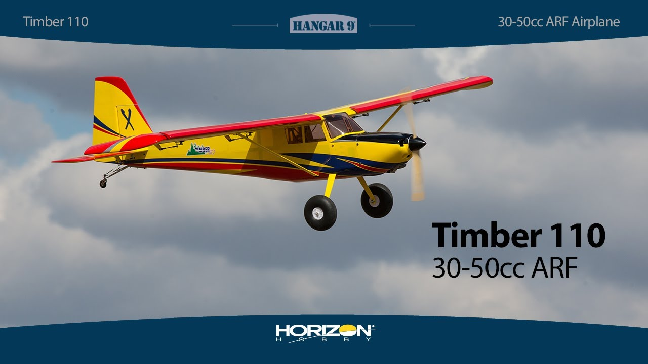 Hangar 9 Timber 110 30-50cc ARF 110 Inch FOR PRE ORDER ONLY