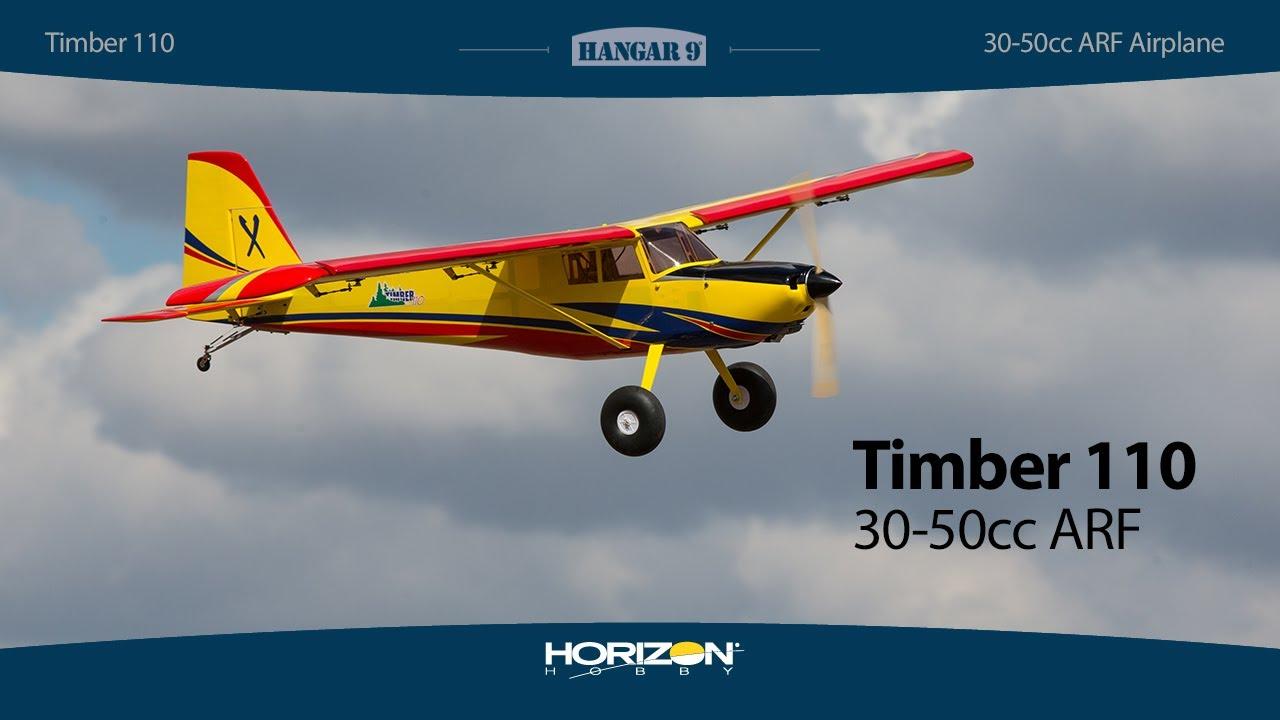 Hangar 9 Timber 110 RC Plane, 30-50cc, ARF