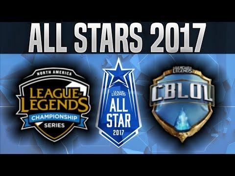 NA vs BR - 2017 All Star Event Day 1 - North America vs Brazil League of Legends All Star 2017 Day 1