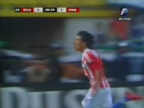 Ecuador 1 vs. Paraguay 1 Gol de Edgar Benitez por ...