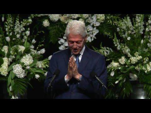 Bill Clinton's eulogy for Muhammad Ali