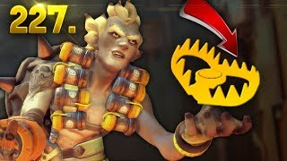 Junkrat Amazing Trap Kill..!! | OVERWATCH Daily Moments Ep. 227 (Funny and Random Moments)
