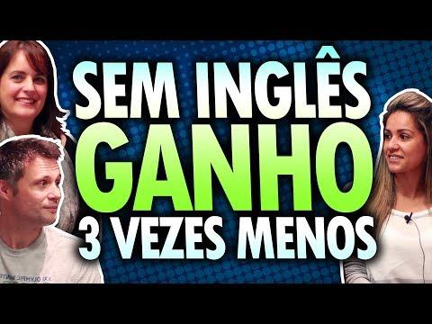SEM SABER INGLÊS GANHO MUITO MENOS