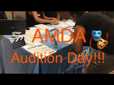 AMDA: AUDITION DAY (VLOG) | BlackCircus