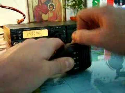 Telegraphy with MC47 KENWOOD TS-50