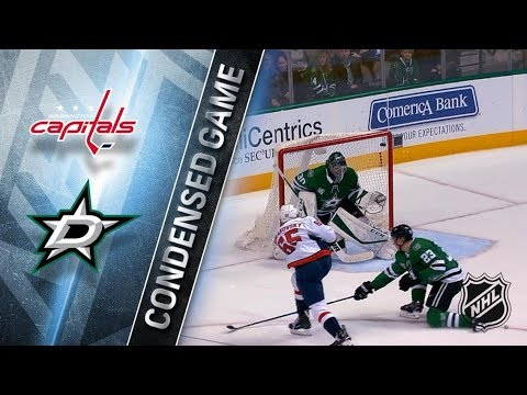 Washington Capitals vs Dallas Stars – Dec. 19, 2017 | Game Highlights | NHL 2017/18. Обзор матча