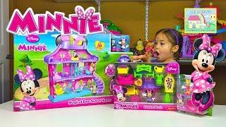 Huge Disney Minnie Mouse Dollhouse - Magical Bow Sweet Home!
