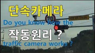 신호위반 및 과속 단속카메라 작동원리? 반도에 흔한 교통카메라의 소름돋는 작동원리의 반전 ㄷㄷㄷ