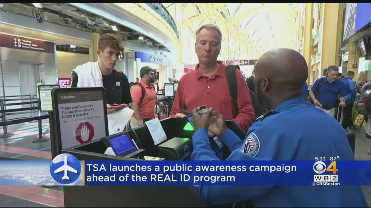 Travelers have less than 1 year before deadline to obtain REAL ID cards