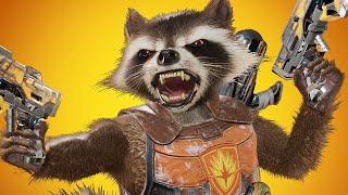 Marvel Powers United VR: Rocket Raccoon Gameplay