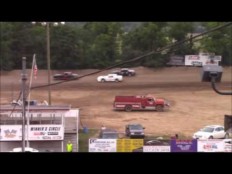 Butler Motor Speedway Street Stock Heat #3 7/23/16