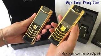 So sanh điện thoại Vertu Luxury và Vertu K7 - Điện Thoại Phong Cách