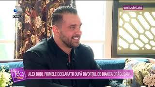 Teo Show (10.03.2020) - ALEX BODI, primele declaratii dupa divortul de Bianca Dragusanu! EXCLUSIV