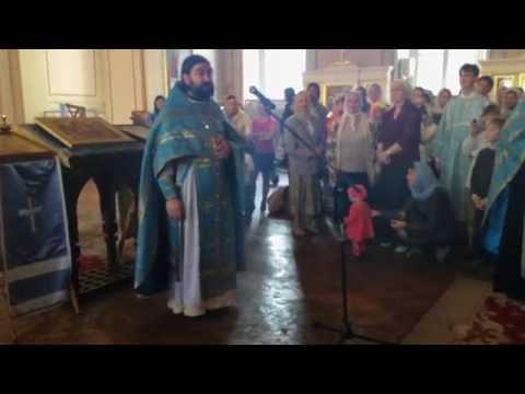 (ВИДЕО) Молебен к началу нового учебного года