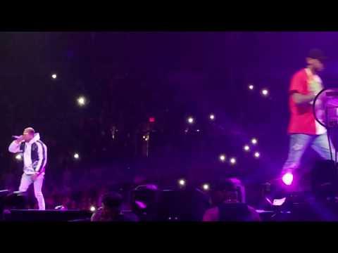 She Wildin' (Live) - Chris Brown ft Fabolous @ The Party Tour