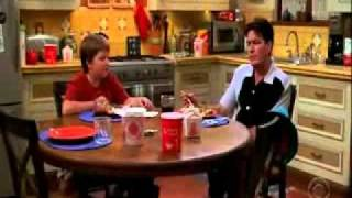 Two and a half men - Funny scenes