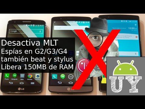 Truco para liberar 150 Mb de RAM en LG G2/G3/G4, beat/stylus | Andro UY