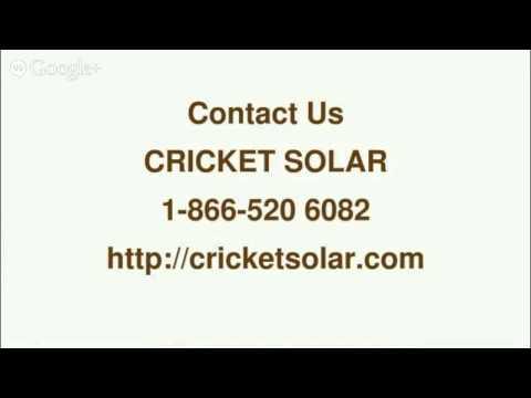 Cricket Solar Panels Cost - 8665206082-Cricket Solar Toronto,ON
