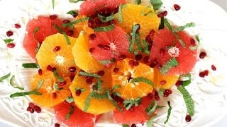 Breakfast Recipe: Winter Citrus Salad By Cookingforbimbos.com