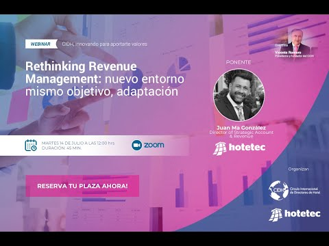 Rethinking Revenue Management: nuevo entorno mismo objetivo