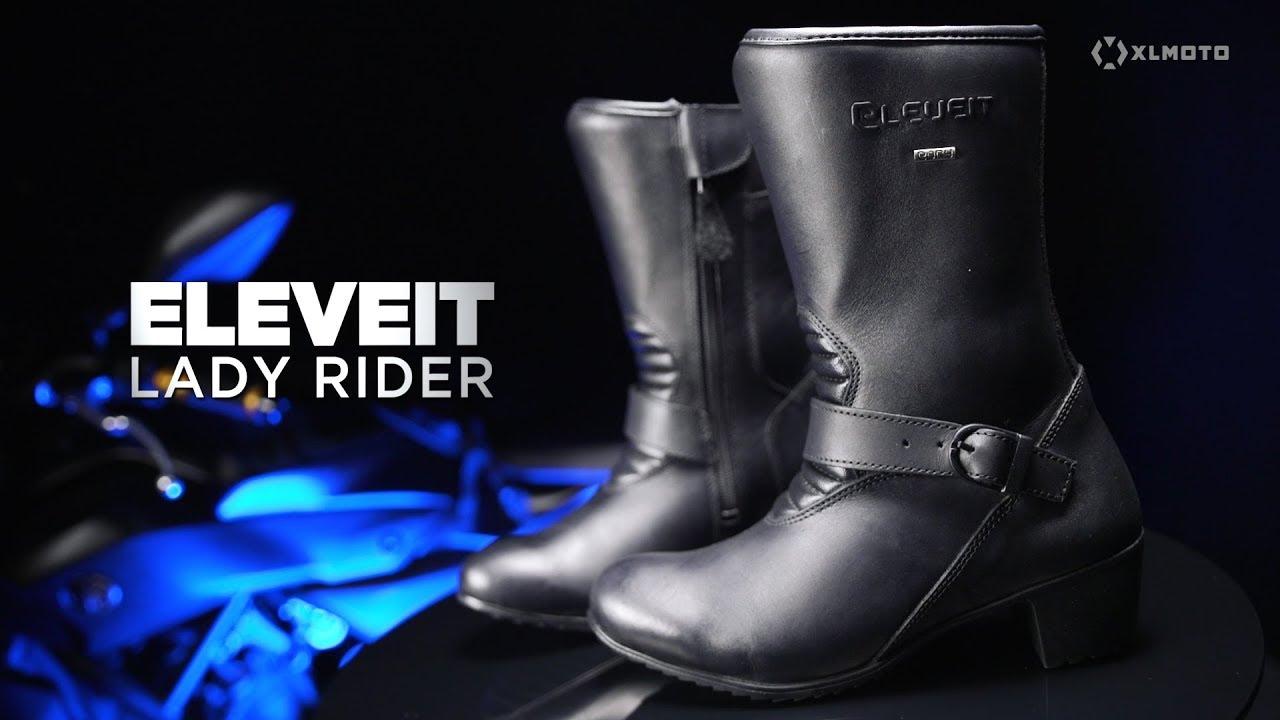 MC Støvler Eleveit Rider Dame, Sort