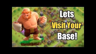 Clash Of Clans Live Stream. After a long time.. Max th 11??