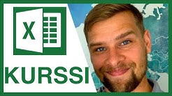 ILMAINEN EXCEL KURSSI, perusteet | ATK tavis | Microsoft Excel peruskurssi