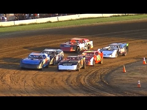 Street Stock Heat One | McKean County Raceway | 8-18-16