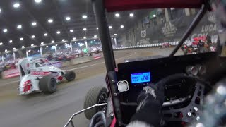 Gary Taylor Lucas Oil Chili Bowl Midget Nationals January 13th, 2020 | ONBOARD