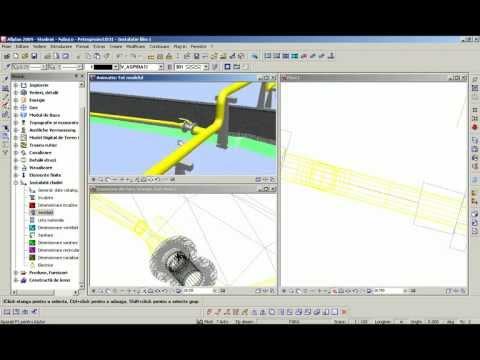 Transport gaze naturale - proiectare instalatii