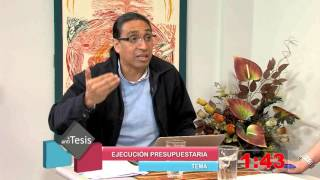 Tesis y Antítesis - Programa 96 - Ejecución Presupuestaria