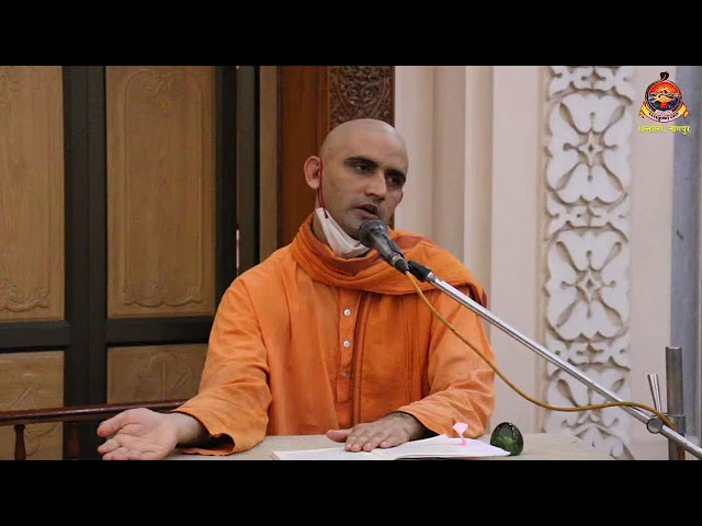 Sandhya Aarti & Pravachan on Life of Swami Abhedananda Maharajji  - 30 Sept. 2021