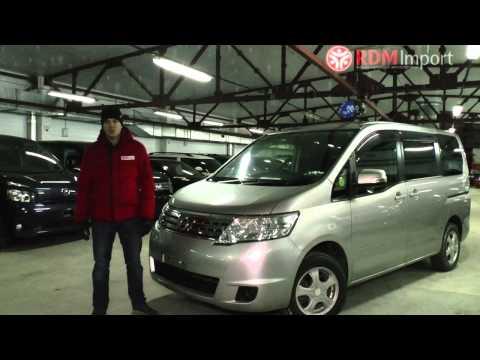 Характеристики и стоимость Nissan Serena 2009 год цены на машины в Новосибирске