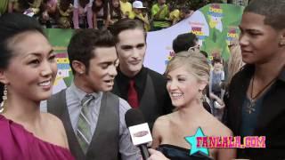 Power Rangers Samurai Hits the Kids' Choice Awards