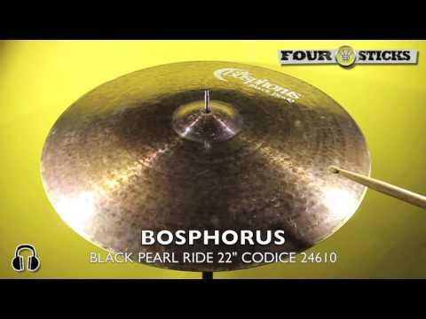 "Bosphorus Black Pearl Ride 22"" - VENDUTO - SOLD"