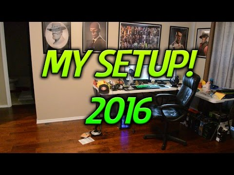 My Setup! | Where I have been and where I am now (2016)
