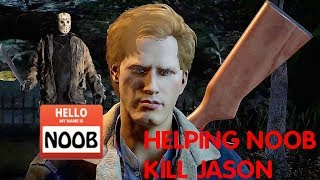 Helping a Noob Kill Jason | Friday the 13th The Game | PS4 Pro Gameplay