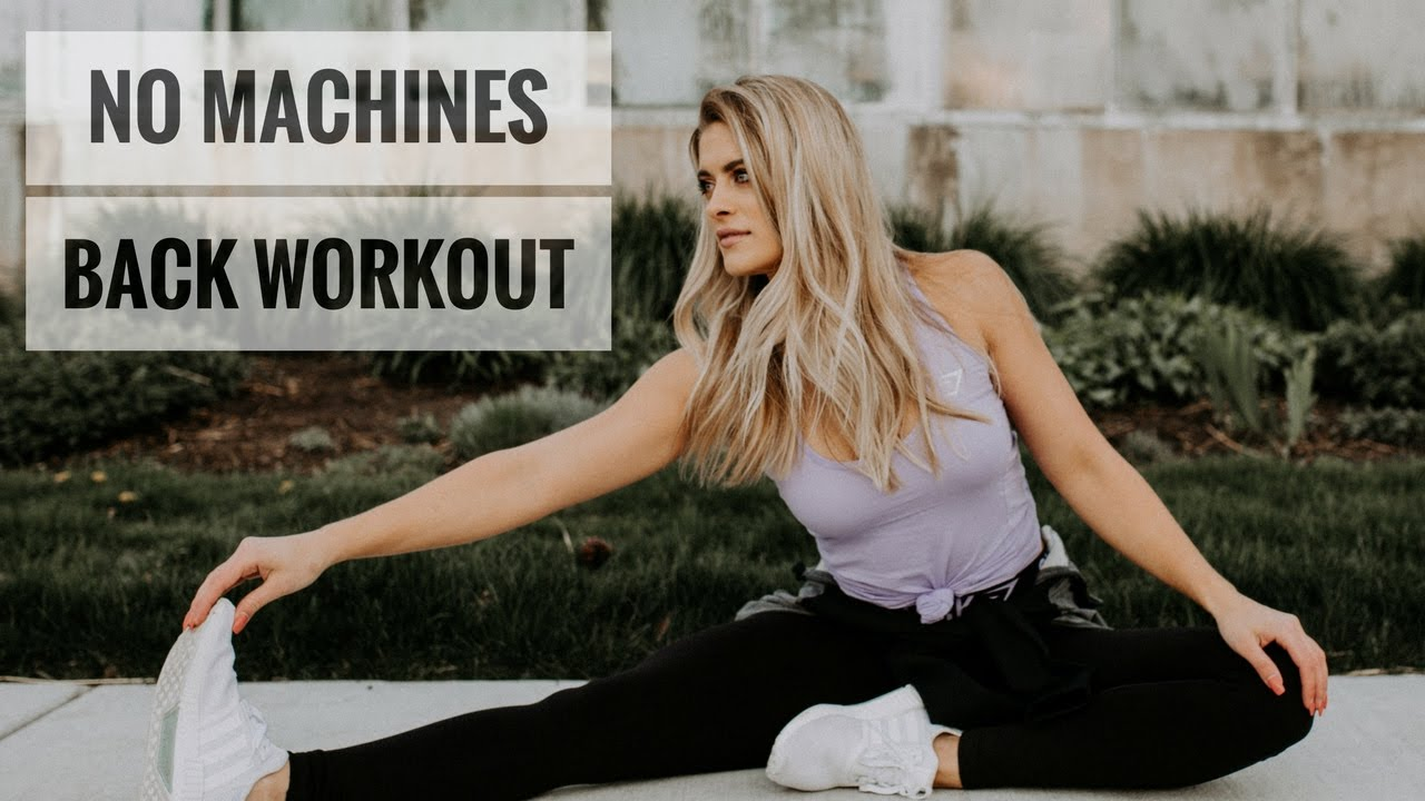 Dumbbell Only Back And Bicep Workout