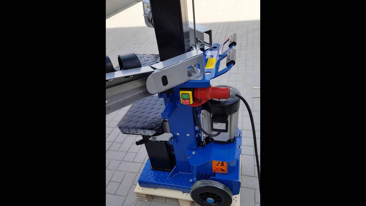 scheppach maschinen brennholz spalter hl 1200 - youtube
