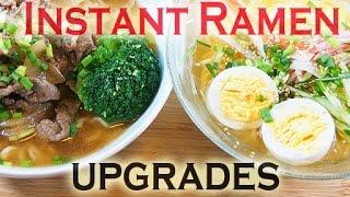 Instant Ramen Recipes インスタントラーメンもこうして美味しく食べました。