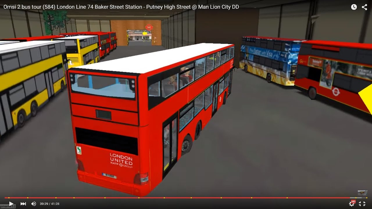 Omsi 2 london bus mod - Wforerconthegamb